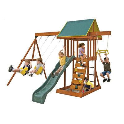 Big Backyard .Meadowvale Wooden Swing Set