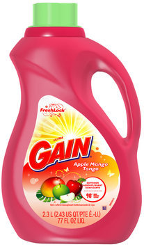 Gain with FreshLock Apple Mango Tango Liquid Fabric Softener 77 fl. oz. Bottle