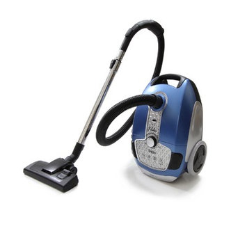 Prolux Tritan Pet Turbo Canister Vacuum Cleaner HEPA Sealed Hard Floor Vacuum Color: Blue