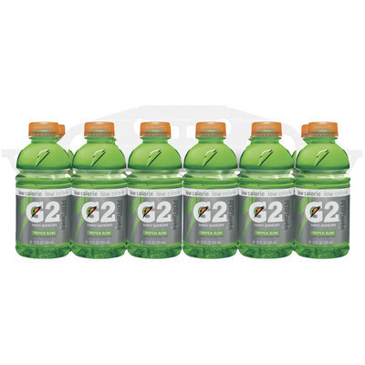 G2 G Series Perform Tropical Blend Sports Drink 12 Oz Plastic Bottles