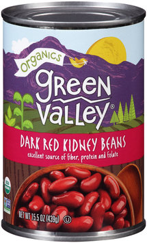Green Valley® Organics Dark Red Kidney Beans 15.5 oz. Can