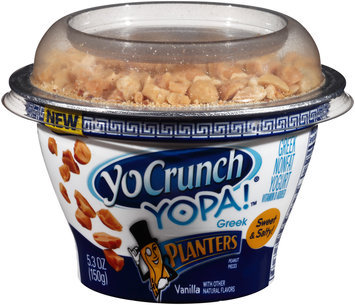 Yocrunch® Yopa!™ Vanilla Planters Peanut Yogurt 5.3 oz. Box