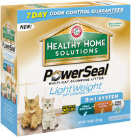 ARM & HAMMER™ Healthy Home Solutions PowerSeal™ Multi-Cat Clumping Litter
