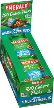 Emerald® Natural Almonds & Walnuts 100 Calorie Packs 16-0.56 oz. Bags