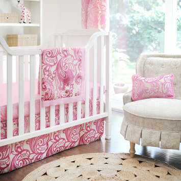 New Arrivals French Quarter 4 Piece Crib Bedding Set