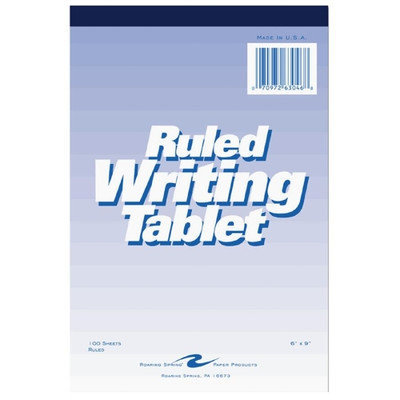 Roaring Spring Paper Writing Tablet, 6