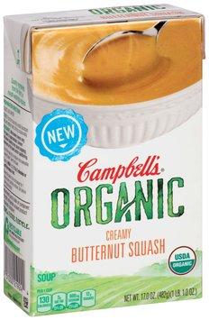 Campbell's® Organic Creamy Butternut Squash Soup 17 oz. Aseptic Carton