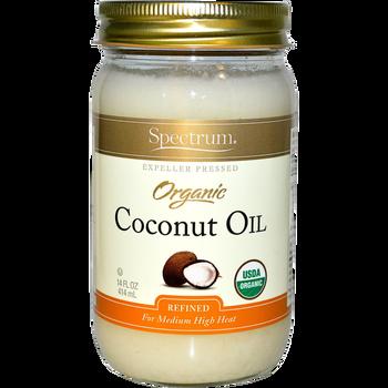 Spectrum Diversified Naturals Refined Organic Coconut Oil (14 oz)