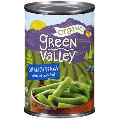 Green Valley® Organics Cut Green Beans 14.5 oz. Can