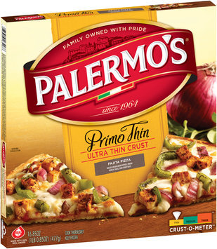 Palermo's® Primo Thin Ultra Thin Crust Fajita Pizza, 16.85 oz Box