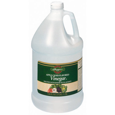 Haggen Distilled White Apple Cider Flavored Vinegar 1 Gal Jug