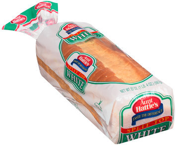 Aunt Hattie's® Split Top White Bread 20 oz. Loaf