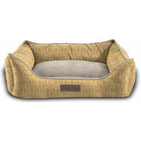 Home Dynamix Comfy Pooch Printed Bed Color: Sunshine yellow, Size: 22