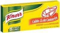 Knorr Hispanic Shrimp Cubes Bouillon 8 Ct Box
