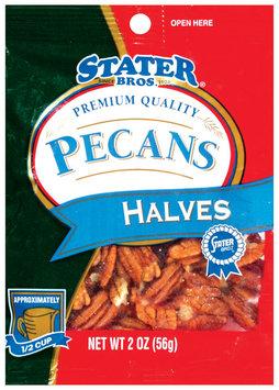 Stater Bros. Halves Pecans 2 Oz Peg