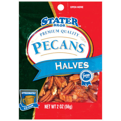 Stater Bros. Halves Pecans 2 Oz Peg