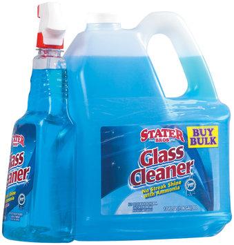 Stater Bros. W/Refillable 32 Oz Spray Bottle Glass Cleaner 135 Oz Plastic Jug