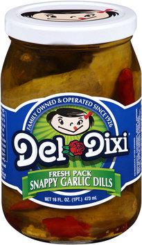 Del-Dixi® Snappy Garlic Dill Pickles 16 fl. oz. Jar