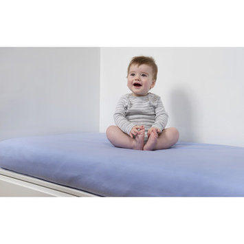 B.sensible All in One Baby Crib Sheet Color: Lavender