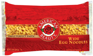 American Beauty Wide Egg Noodles  16 Oz Bag