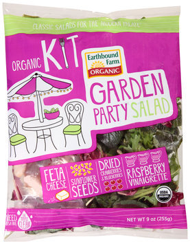 earthbound farm® organic garden party salad kit