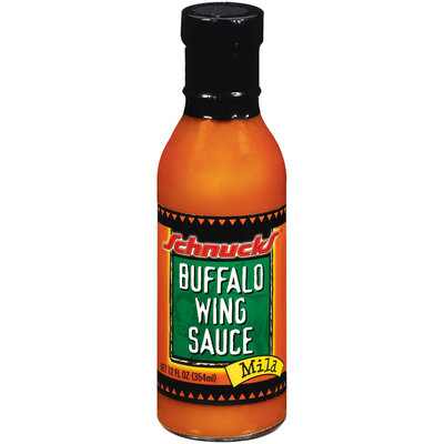 Schnucks Buffalo Wing Mild Sauce 12 Fl Oz Glass Bottle