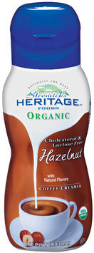 Stremicks Heritage Foods® Organic Hazelnut Coffee Creamer 1 pt. Bottle