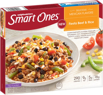 Weight Watchers Smart Ones® Delicious Mexican Flavors Fiesta Beef & Rice 9 oz. Box