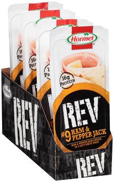 Hormel® Rev® #9 Ham & Pepper Jack Snack Wrap 2.7 oz. Tray