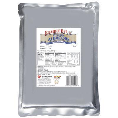 Bumble Bee Premium Albacore Tuna 43 Oz Pouch