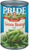 Pride Cut Green Beans 14.5 Oz Can