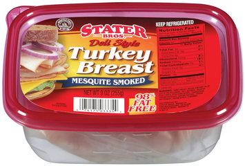 Stater Bros. Mesquite Smoked Deli Style Turkey Breast 9 oz