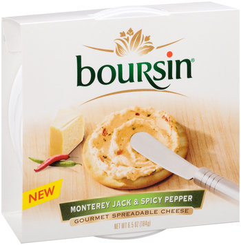 Boursin® Monterey Jack & Spicy Pepper Gourmet Spreadable Cheese