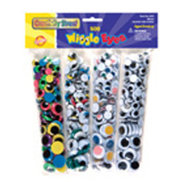 Chenille Kraft Wiggle Eyes Bonus Pack - 1 ct.