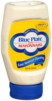 Blue Plate® Real Mayonnaise 12 fl. oz. Squeeze Bottle