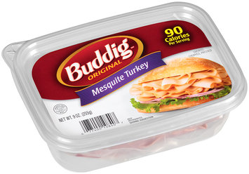 Buddig™ Original Mesquite Turkey 9 oz. Tub