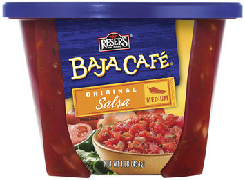 Baja Cafe Original Medium Salsa 1 Lb Bowl