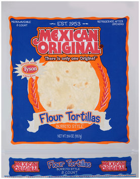 Mexican Original® Burrito Style Flour Tortillas 19.6 oz. Bag