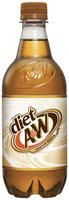 A & W Diet Cream Soda 20 fl. oz. Bottle