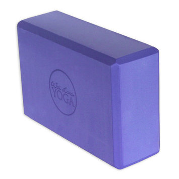 Wai Lana Productions 163 3 in. Foam Yoga Block 16 Block - Purple