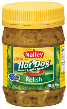 Nalley Hot Dog Relish 10 Oz Jar