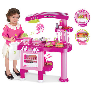 Berry Toys My First Play Kitchen Color: Pink
