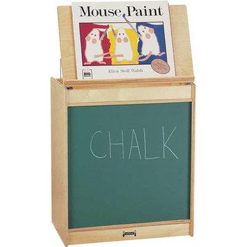 Jonti-Craft 0542TK Thriftykydz Big Book Easel - Chalkboard
