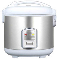 Oyama Rice Cooker - Stainless Steel/White