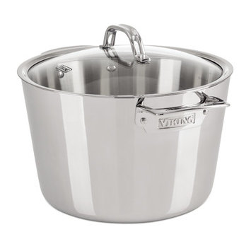 Viking Contemporary 8-qt. Stock Pot with Lid