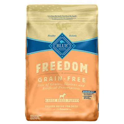 THE BLUE BUFFALO CO. BLUE™ Freedom® Grain-Free Chicken Recipe For Large Breed Puppies