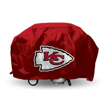 Rico Football Pride Deluxe Grill Cover Team: Kansas City Chiefs