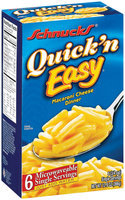 Schnucks Quick 'n Easy Single Servings Macaroni Cheese Dinner 6 Ct Box