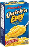 Schnucks Quick 'n Easy Single Servings Macaroni Cheese Dinner 6 Ct Box
