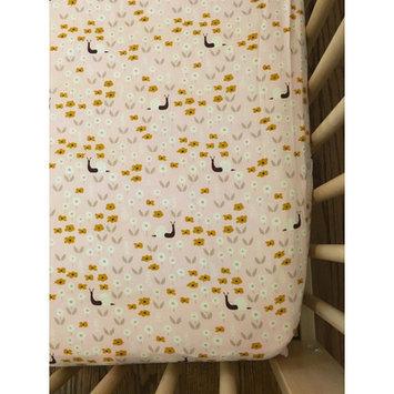 Simple Grace Design Snail Organic Crib Sheet
